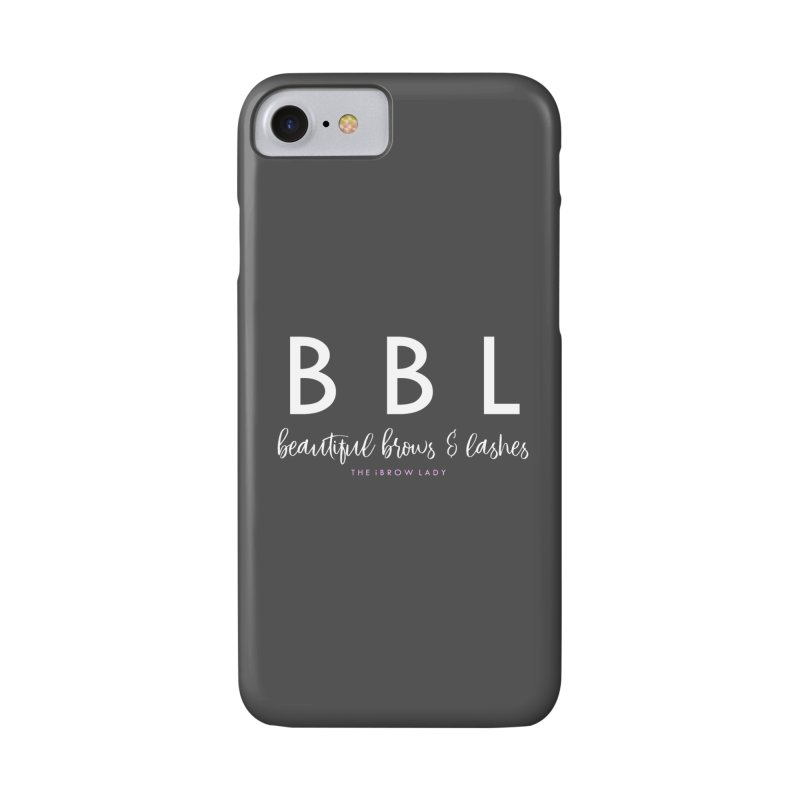 """""""BBL"""" Accessories Phone Case by Threaded by The iBrow Lady"""