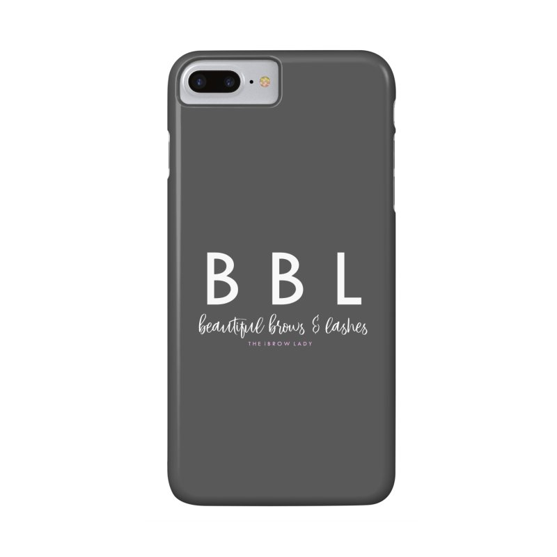 """BBL"" Accessories Phone Case by Threaded by The iBrow Lady"