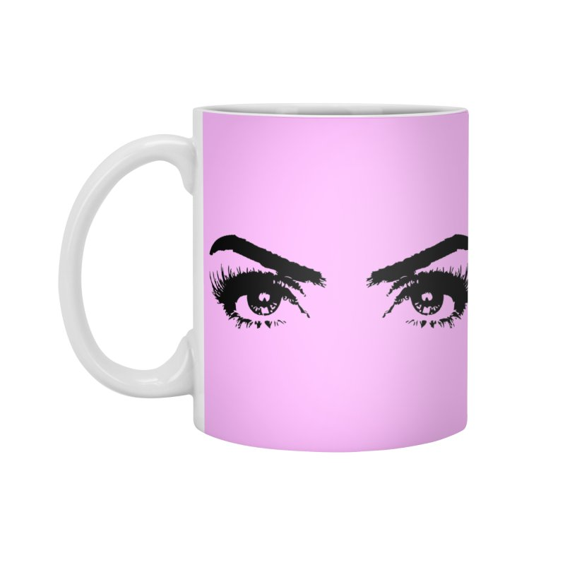 Brows & Lashes Accessories Standard Mug by Threaded by The iBrow Lady