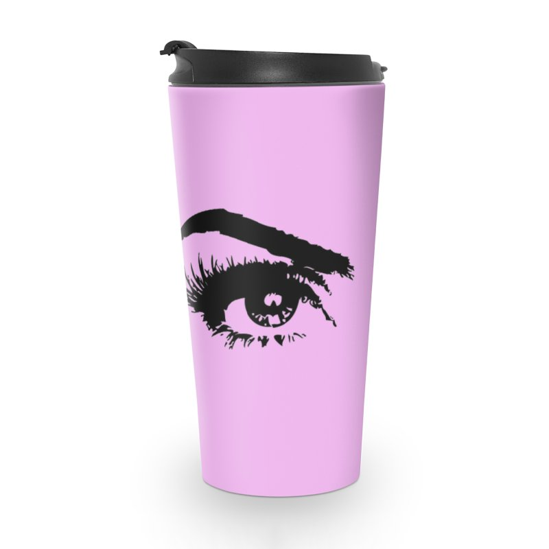 Brows & Lashes Accessories Travel Mug by Threaded by The iBrow Lady