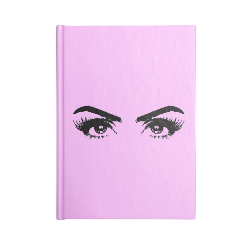 Brows & Lashes Accessories Lined Journal Notebook by Threaded by The iBrow Lady