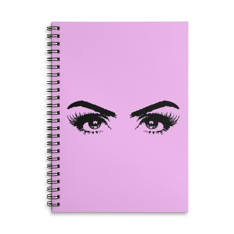 Brows & Lashes Accessories Lined Spiral Notebook by Threaded by The iBrow Lady