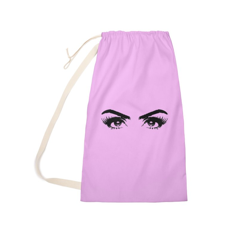 Brows & Lashes Accessories Laundry Bag Bag by Threaded by The iBrow Lady