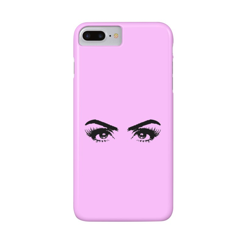 Brows & Lashes Accessories Phone Case by Threaded by The iBrow Lady
