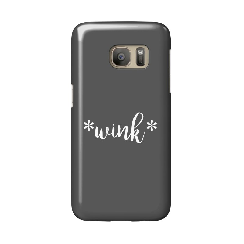 *Wink* Accessories Phone Case by Threaded by The iBrow Lady