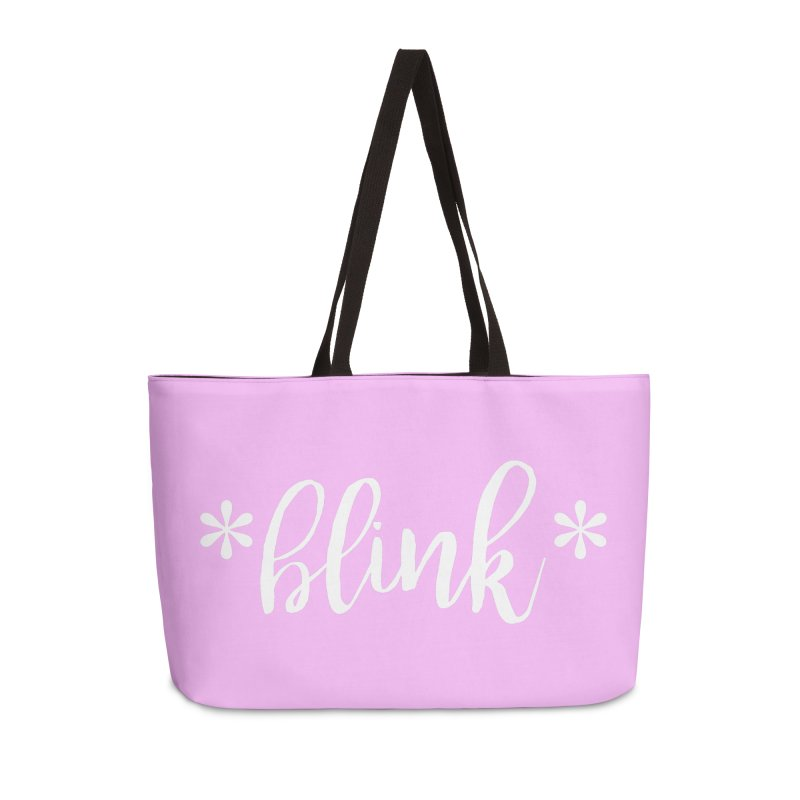 *Blink* Accessories Weekender Bag Bag by Threaded by The iBrow Lady