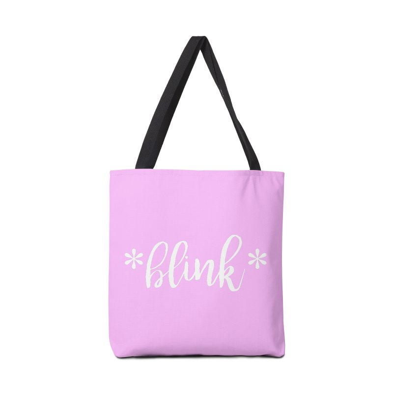 *Blink* Accessories Tote Bag Bag by Threaded by The iBrow Lady