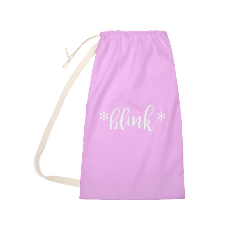 *Blink* Accessories Laundry Bag Bag by Threaded by The iBrow Lady