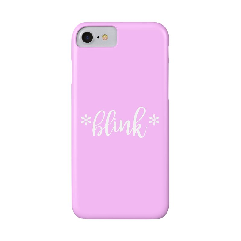 *Blink* Accessories Phone Case by Threaded by The iBrow Lady