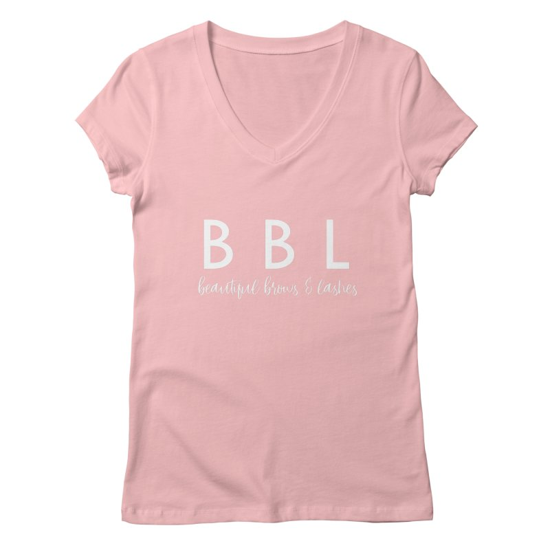 BBL Women's V-Neck by Threaded by The iBrow Lady