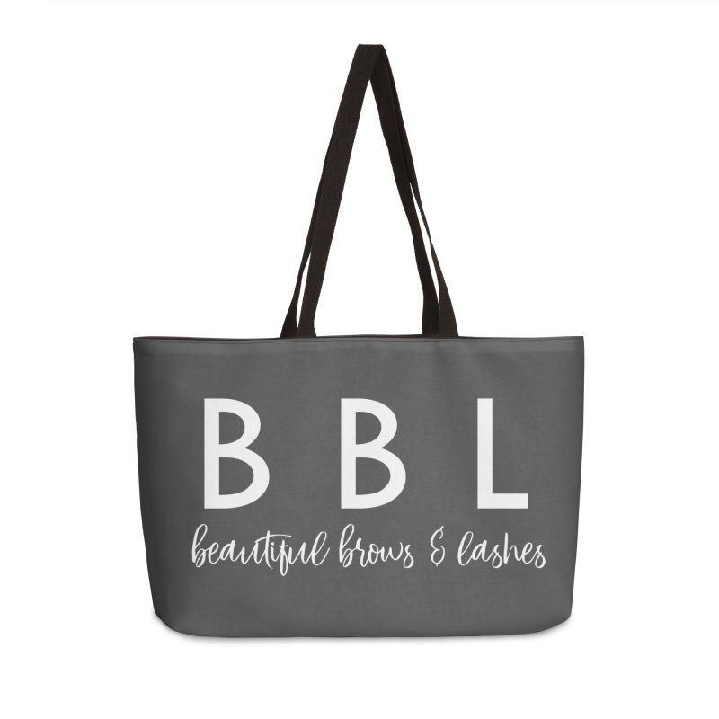 BBL Accessories Weekender Bag Bag by Threaded by The iBrow Lady
