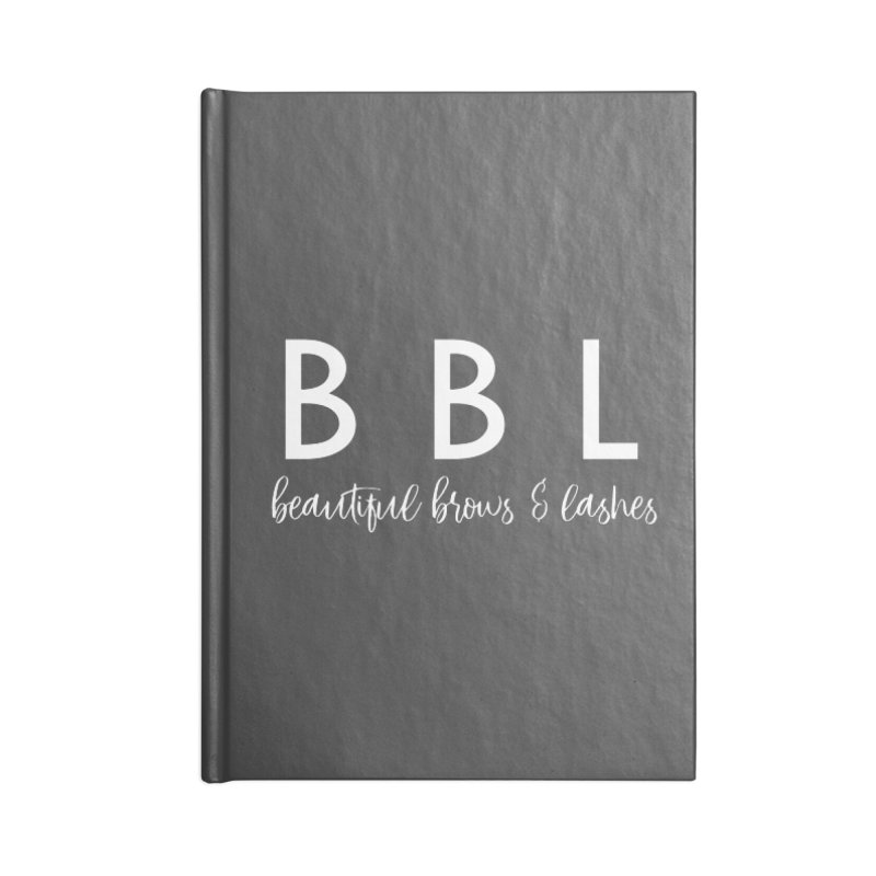 BBL Accessories Blank Journal Notebook by Threaded by The iBrow Lady