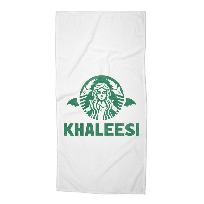 Cup of Khaleesi Accessories Beach Towel by Ibyes