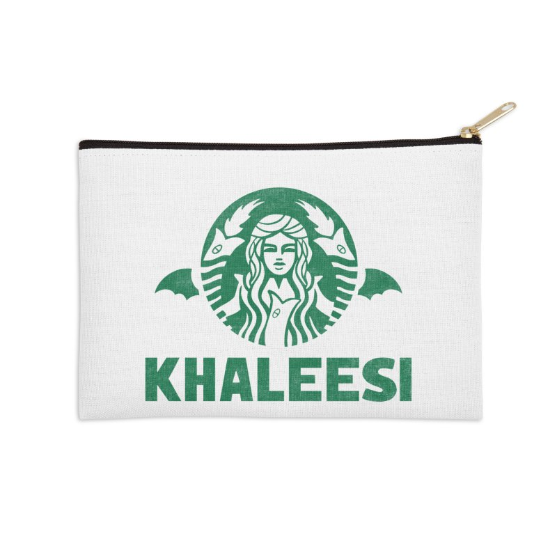 Cup of Khaleesi Accessories Zip Pouch by Ibyes