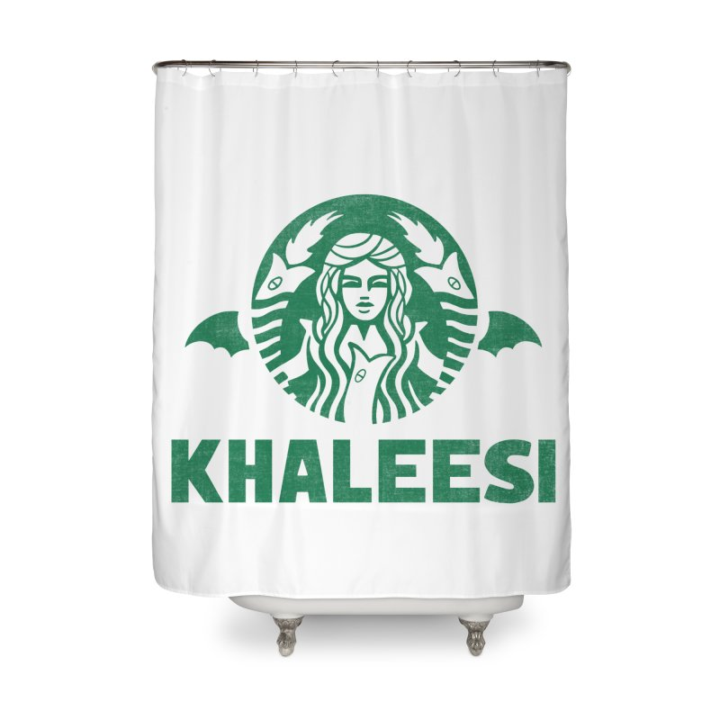 Cup of Khaleesi Home Shower Curtain by Ibyes