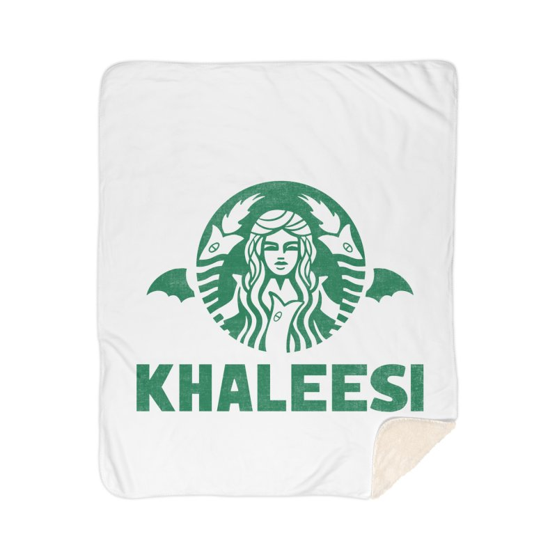 Cup of Khaleesi Home Sherpa Blanket Blanket by Ibyes