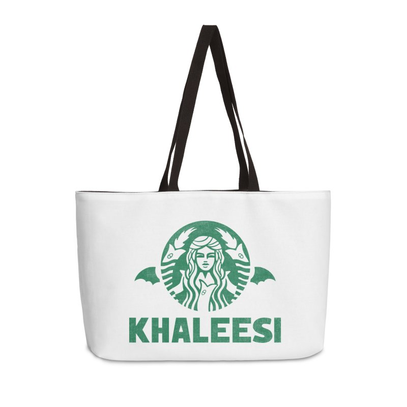 Cup of Khaleesi Accessories Weekender Bag Bag by Ibyes