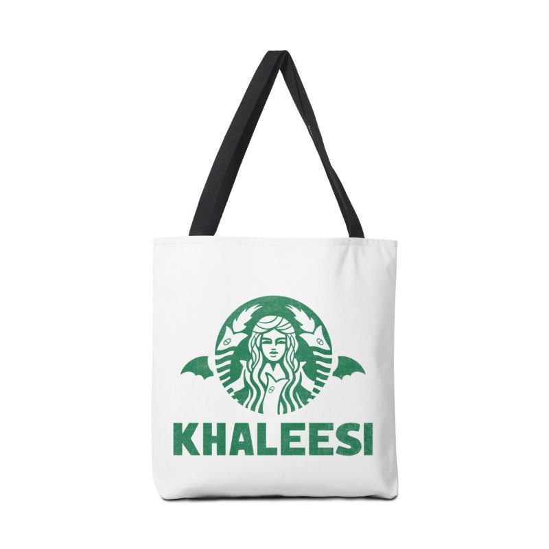 Cup of Khaleesi Accessories Tote Bag Bag by Ibyes