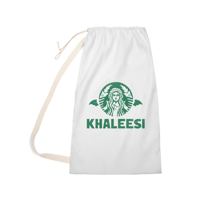 Cup of Khaleesi Accessories Laundry Bag Bag by Ibyes