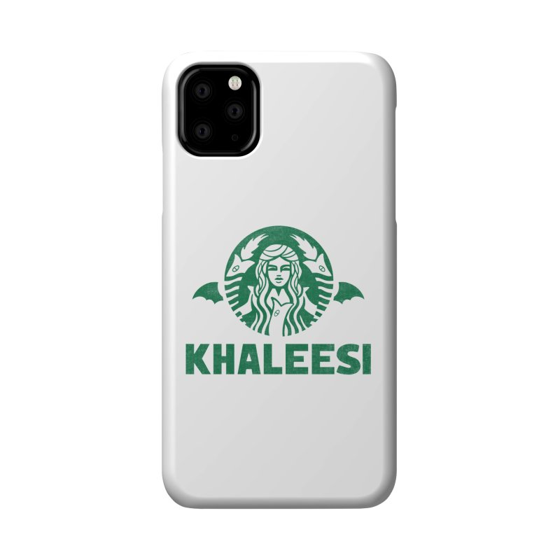 Cup of Khaleesi Accessories Phone Case by Ibyes