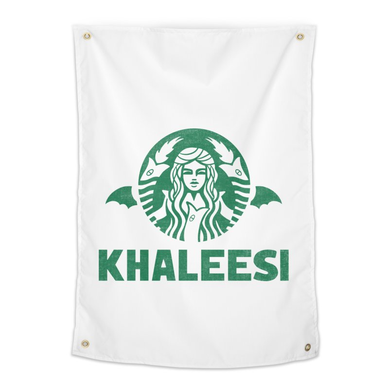 Cup of Khaleesi Home Tapestry by Ibyes