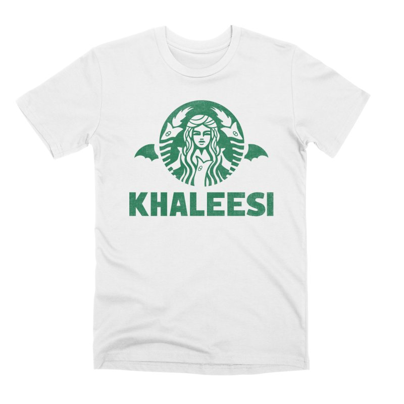 Cup of Khaleesi Men's Premium T-Shirt by Ibyes