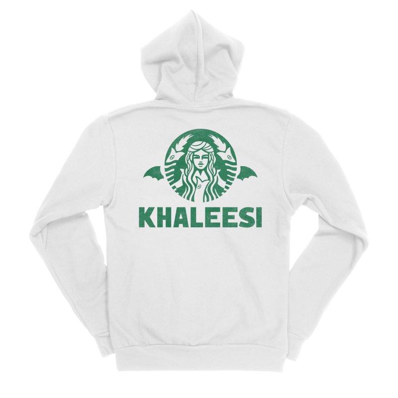 Cup of Khaleesi Men's Sponge Fleece Zip-Up Hoody by Ibyes