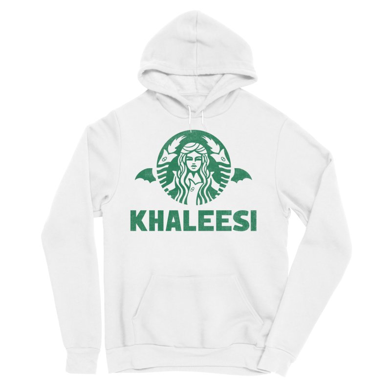 Cup of Khaleesi Men's Sponge Fleece Pullover Hoody by Ibyes