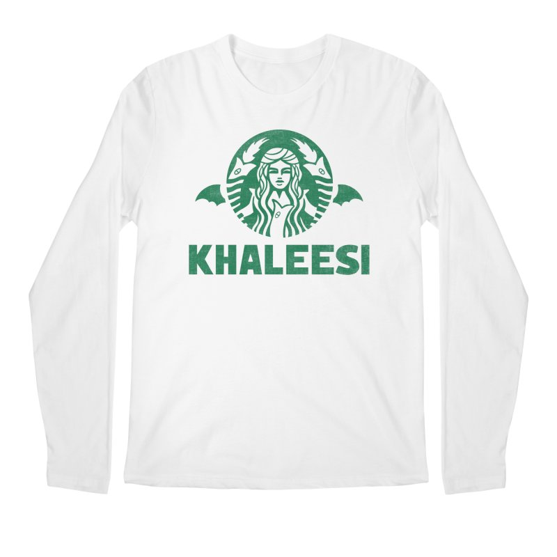 Cup of Khaleesi Men's Regular Longsleeve T-Shirt by Ibyes