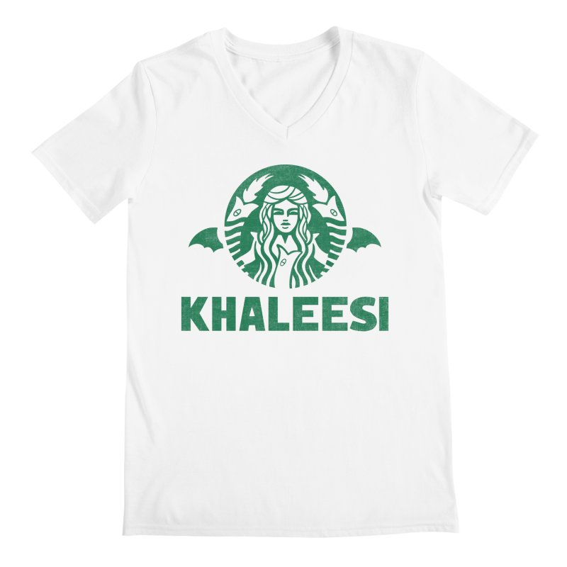 Cup of Khaleesi Men's Regular V-Neck by Ibyes