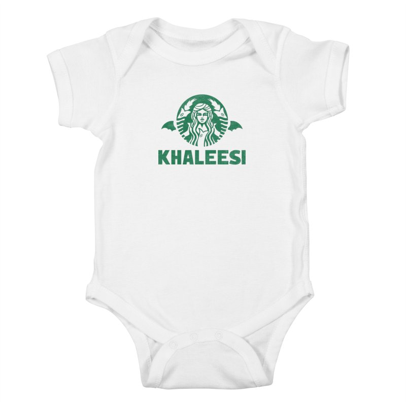Cup of Khaleesi Kids Baby Bodysuit by Ibyes
