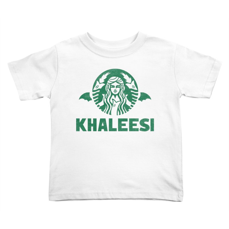 Cup of Khaleesi Kids Toddler T-Shirt by Ibyes