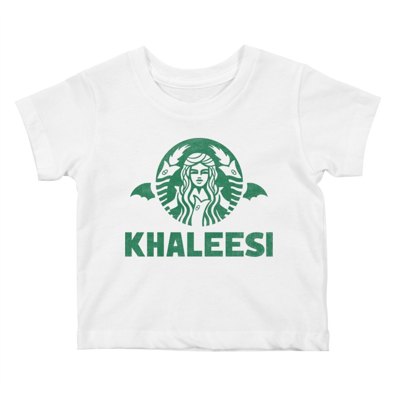 Cup of Khaleesi Kids Baby T-Shirt by Ibyes