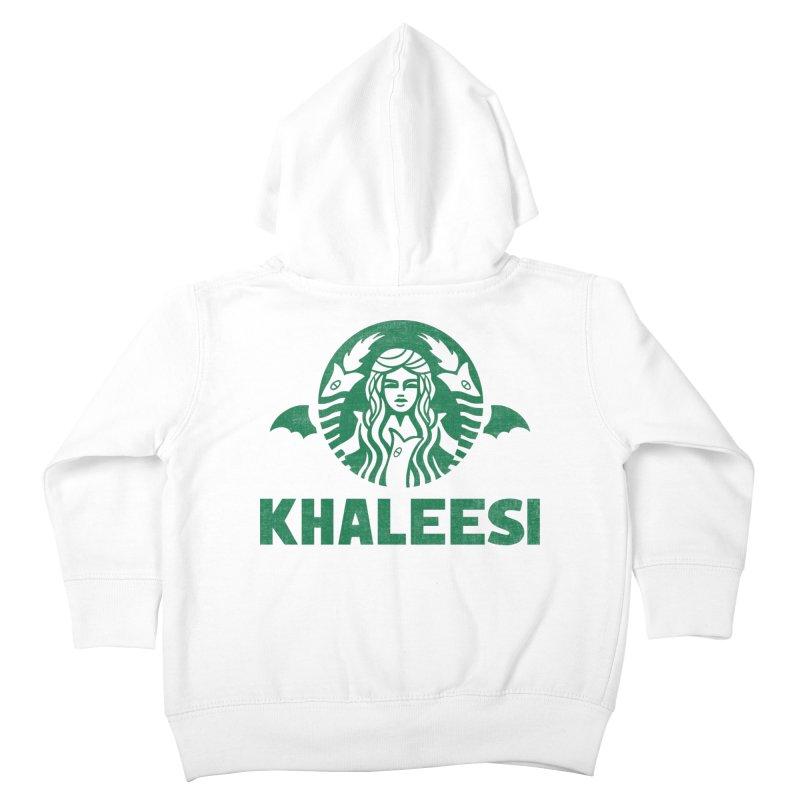 Cup of Khaleesi Kids Toddler Zip-Up Hoody by Ibyes