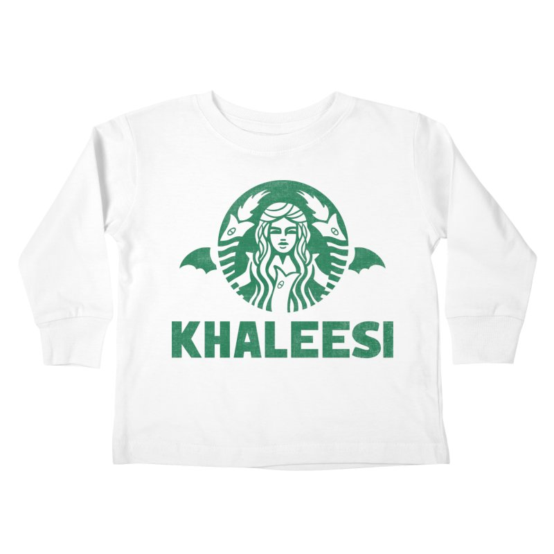 Cup of Khaleesi Kids Toddler Longsleeve T-Shirt by Ibyes