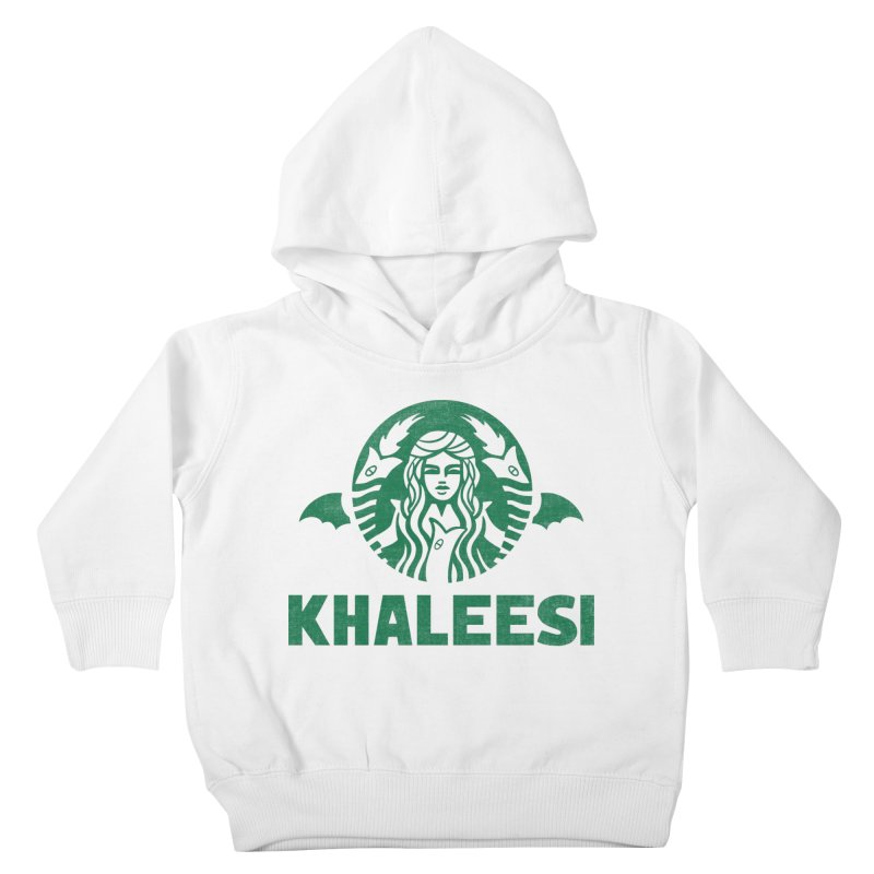 Cup of Khaleesi Kids Toddler Pullover Hoody by Ibyes