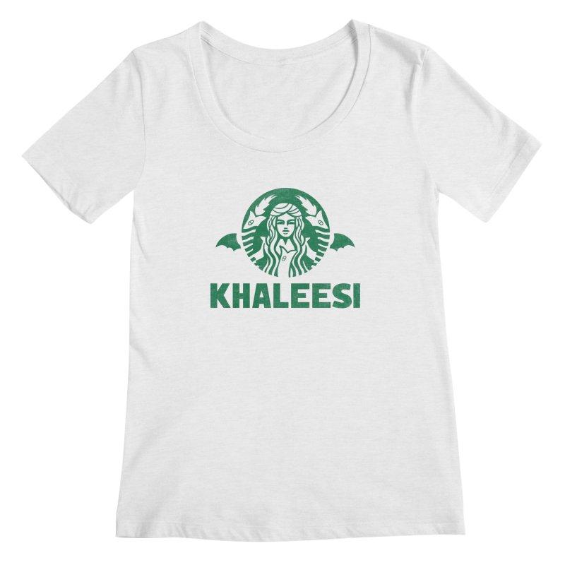 Cup of Khaleesi Women's Regular Scoop Neck by Ibyes