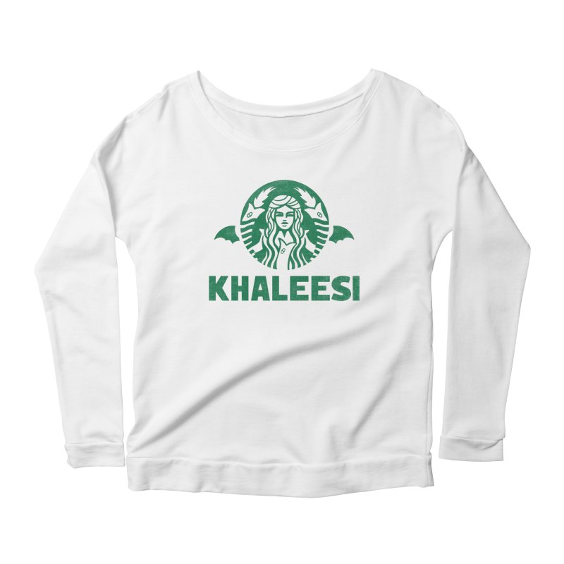 Cup of Khaleesi Women's Scoop Neck Longsleeve T-Shirt by Ibyes