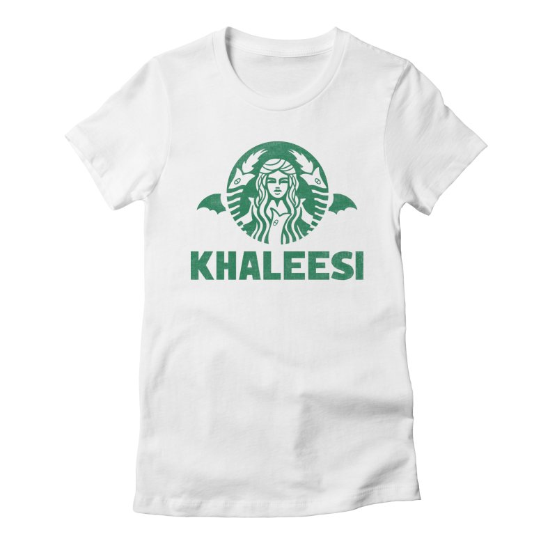 Cup of Khaleesi Women's Fitted T-Shirt by Ibyes