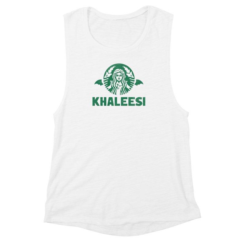 Cup of Khaleesi Women's Muscle Tank by Ibyes