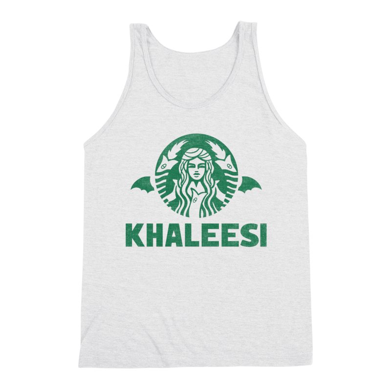 Cup of Khaleesi Men's Triblend Tank by Ibyes