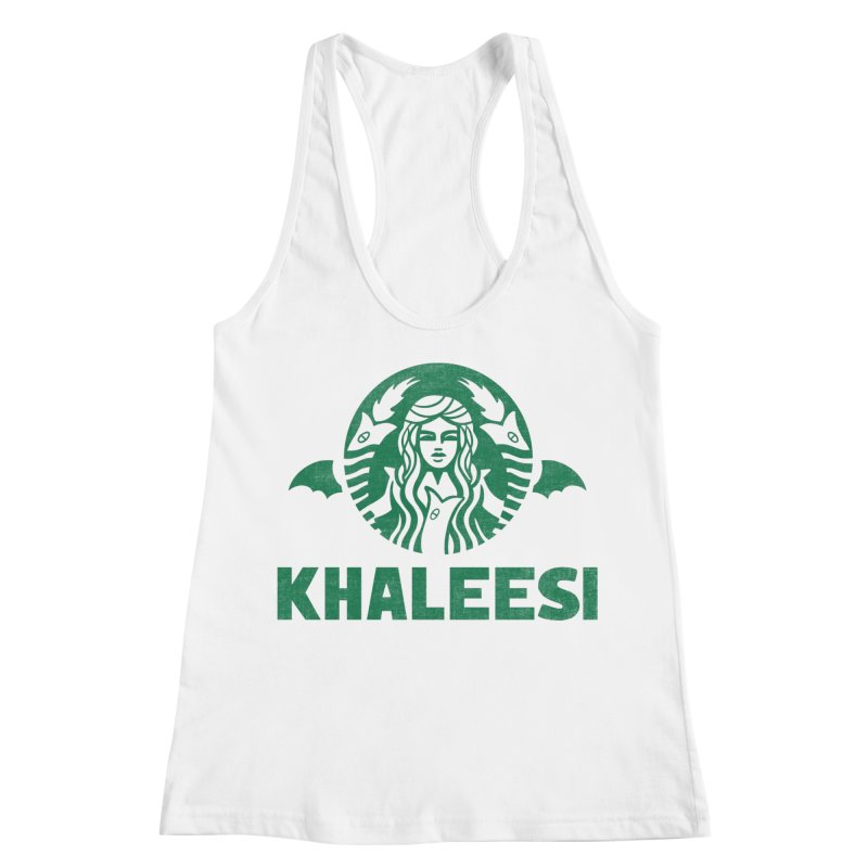 Cup of Khaleesi Women's Racerback Tank by Ibyes