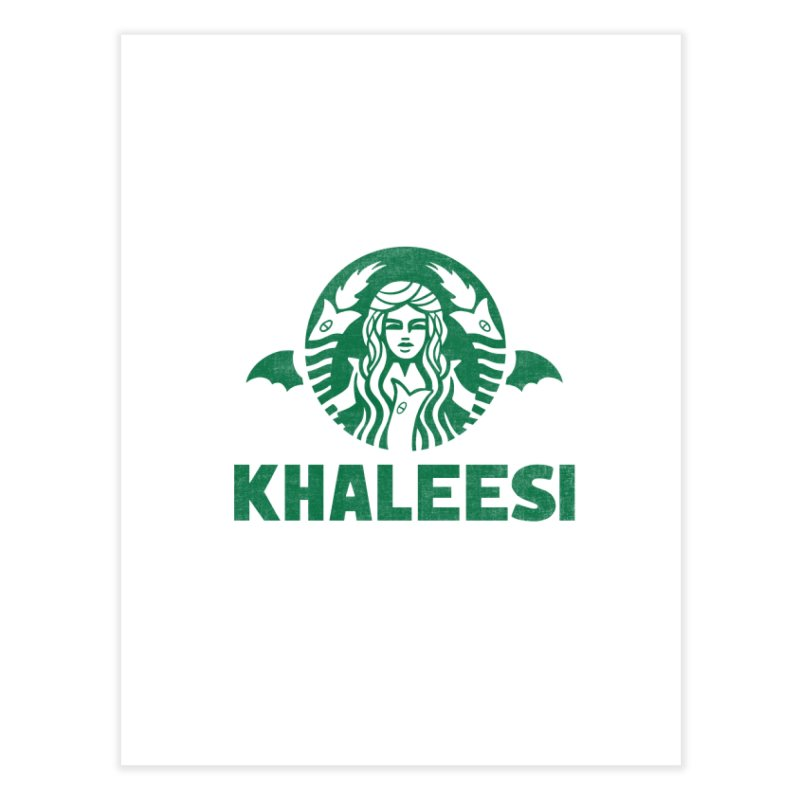 Cup of Khaleesi Home Fine Art Print by Ibyes