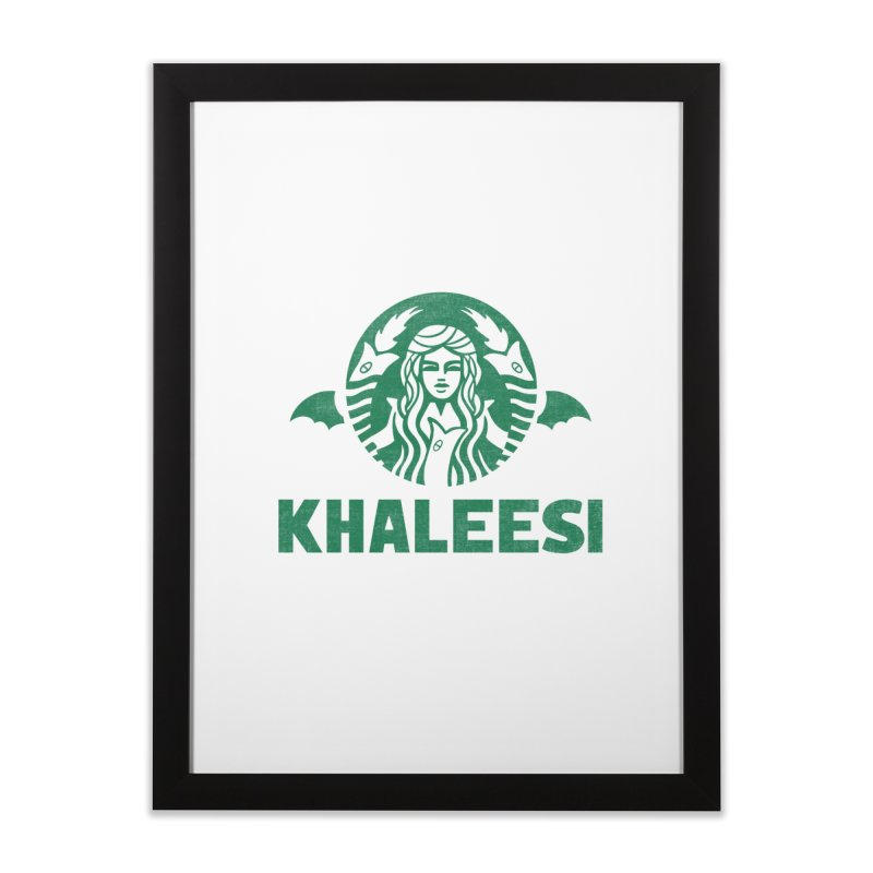 Cup of Khaleesi Home Framed Fine Art Print by Ibyes