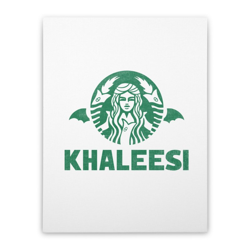 Cup of Khaleesi Home Stretched Canvas by Ibyes
