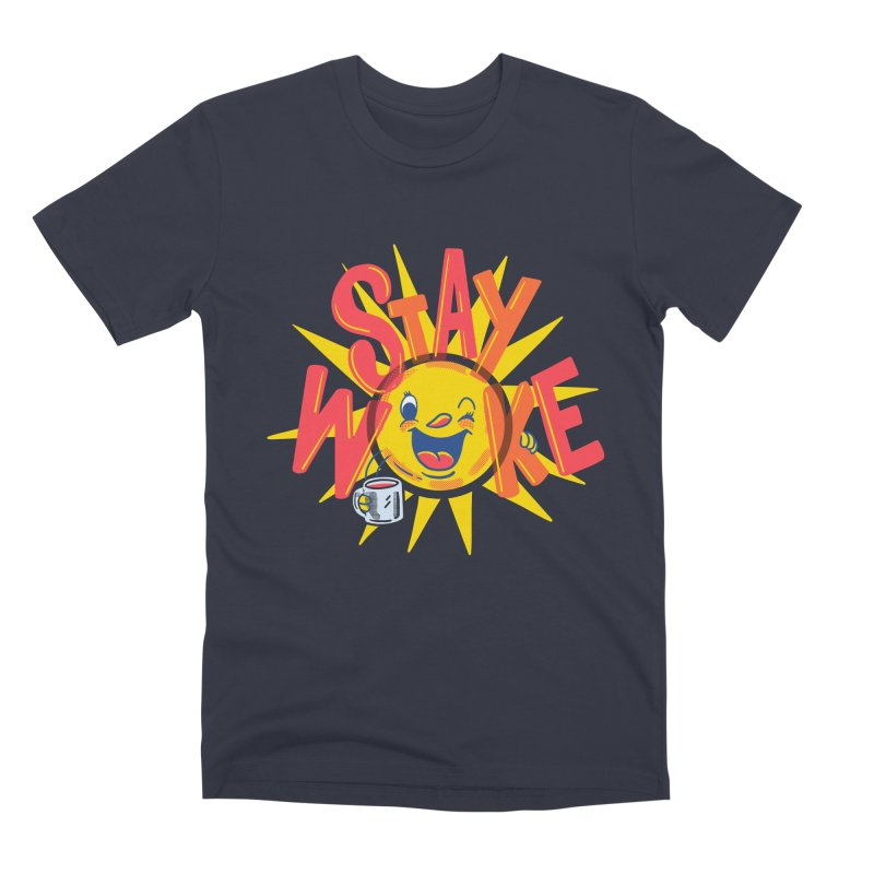 Stay Woke Men's Premium T-Shirt by Ibyes