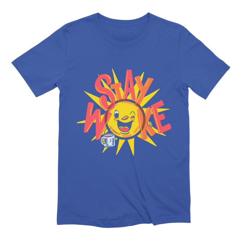 Stay Woke Men's Extra Soft T-Shirt by Ibyes