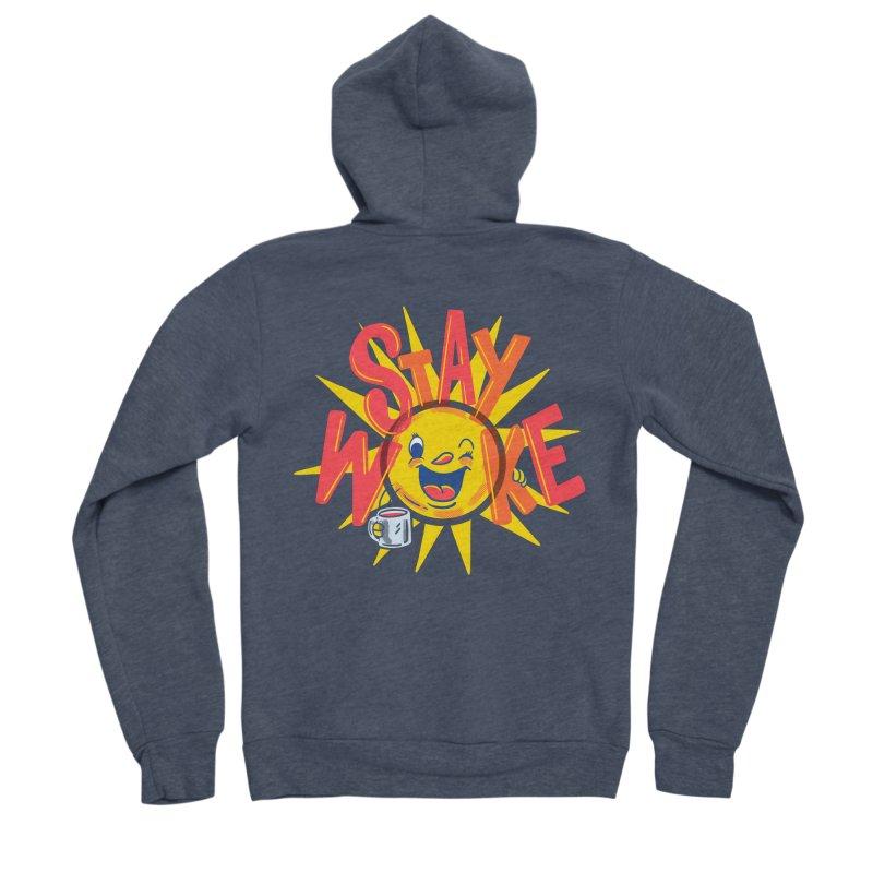 Stay Woke Women's Sponge Fleece Zip-Up Hoody by Ibyes