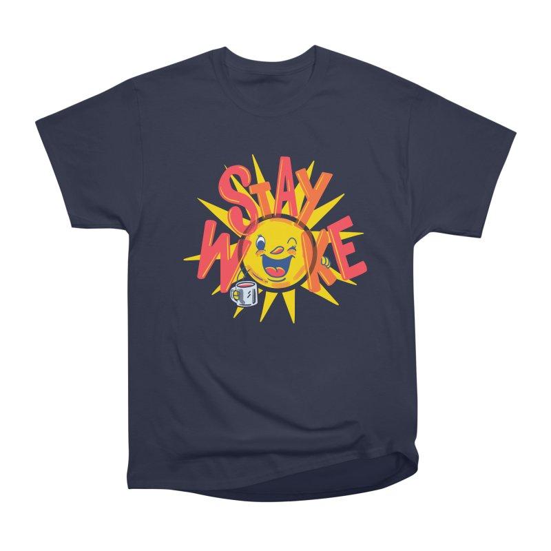 Stay Woke Women's Heavyweight Unisex T-Shirt by Ibyes