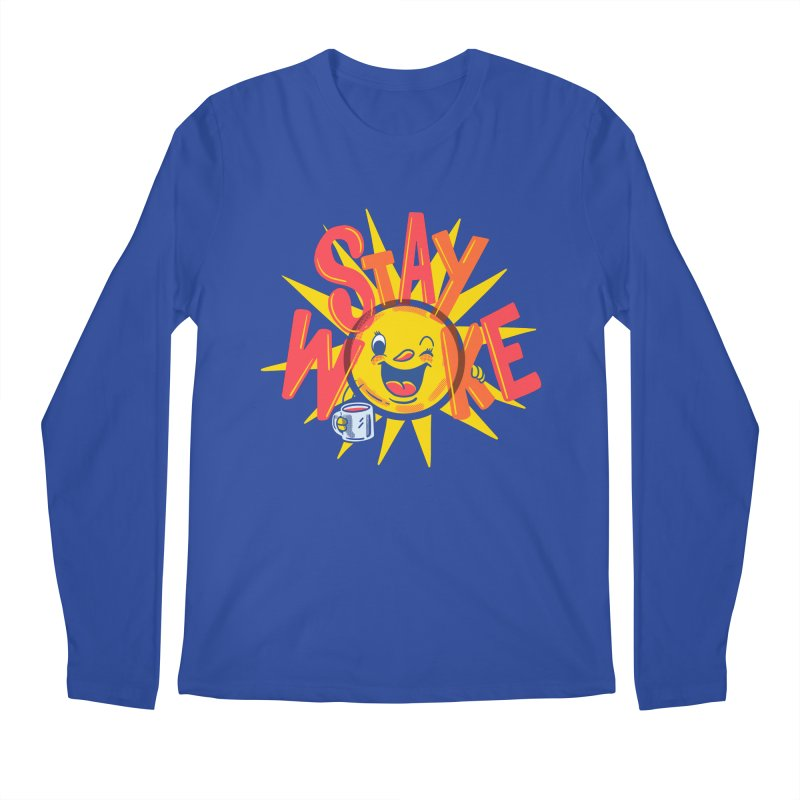 Stay Woke Men's Regular Longsleeve T-Shirt by Ibyes